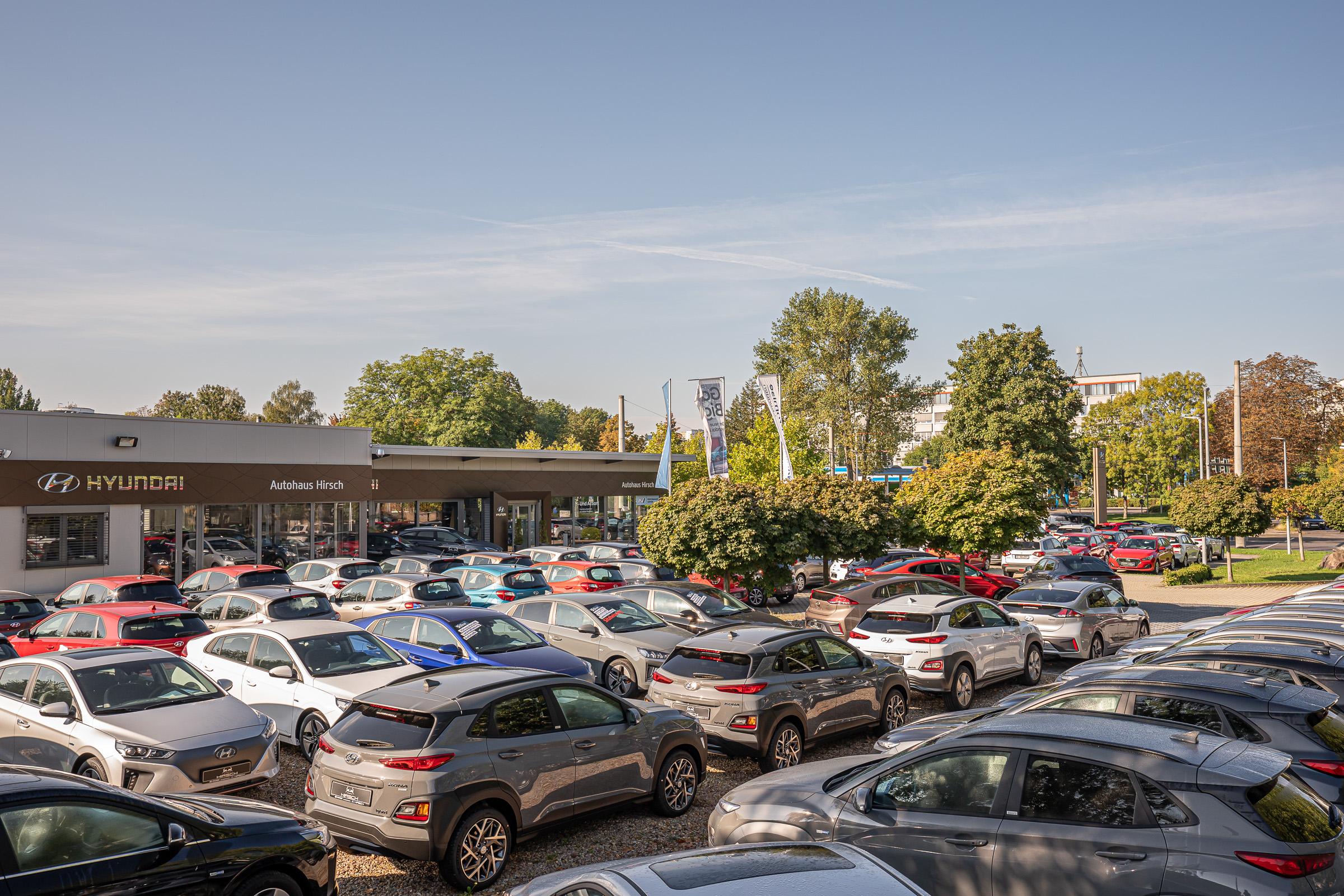Hyundai Autohaus Hirsch Chemnitz - Außenaufnahme