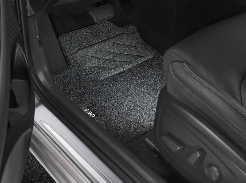 Hyundai i30 Fastback N tuning Fussmatten-Textil-i30-1