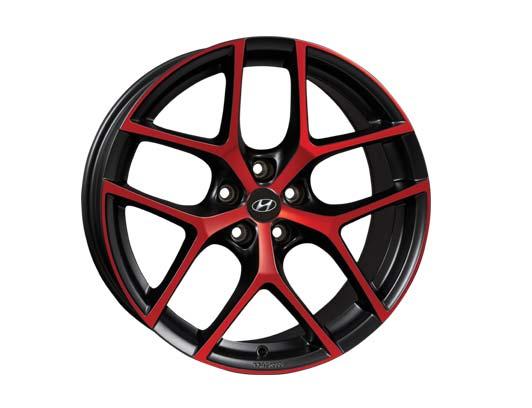 Hyundai-Felge-Y-Black-red-matt-19-Zoll