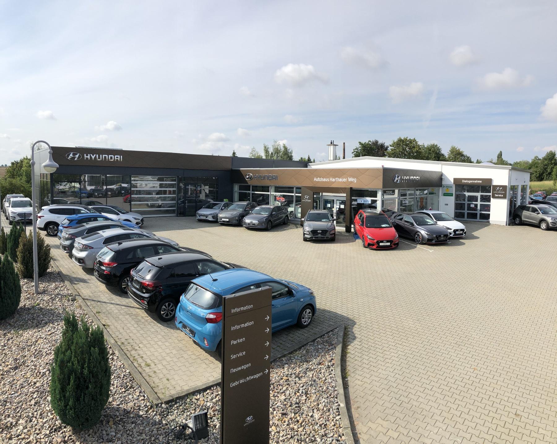 Hyundai Autohaus Harthauer Weg Aussenaufnahme