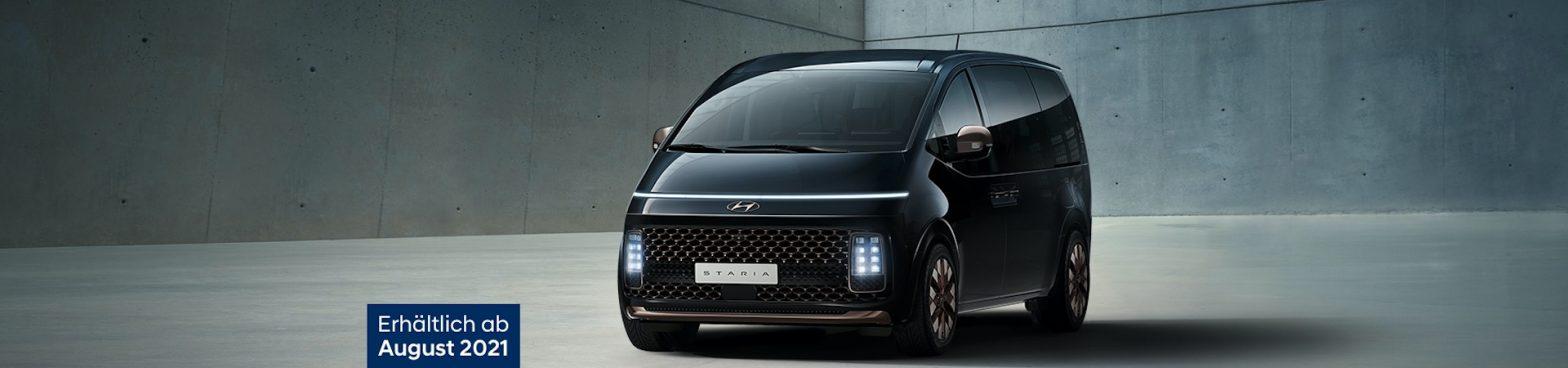 Titelbild des neuen Hyundai STARIA