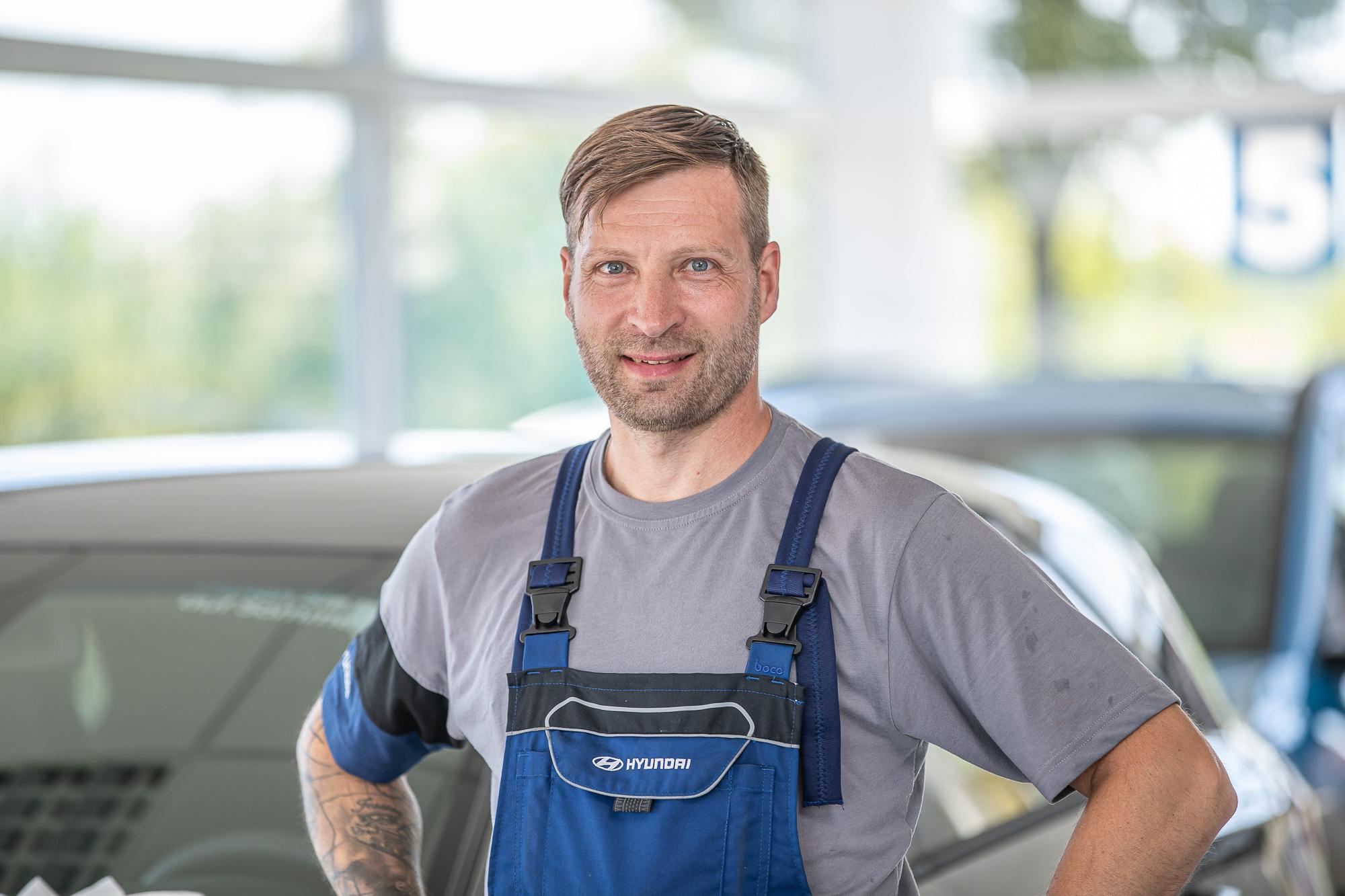 Mechaniker Schubert